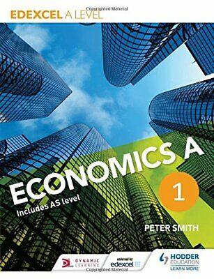 £15.99 • Buy Edexcel A Level Economics A Book 1 By Smith, Peter Book The Cheap Fast Free Post