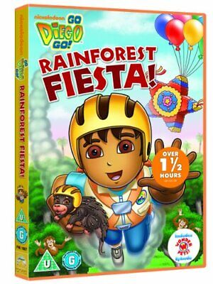 Go Diego Go: Rainforest Fiesta [DVD] - DVD  RYVG The Cheap Fast Free Post • 3.49£