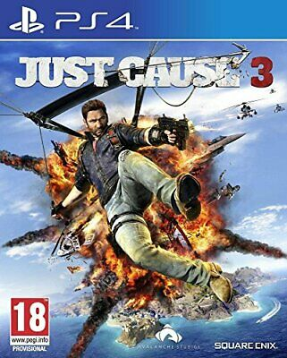 Just Cause 3 Day 1 Edition (PS4) - Game  RMVG The Cheap Fast Free Post • 5.82£