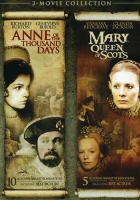 $14.80 • Buy Anne Of The Thousand Days / Mary, Queen Of Scots [New DVD] Dolby, Slip