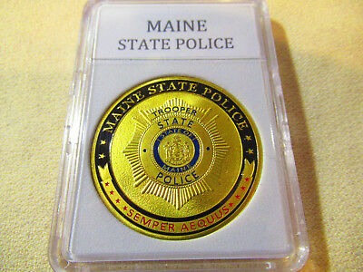$14.99 • Buy MAINE STATE POLICE Challenge Coin