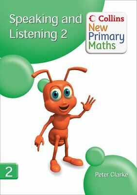 Collins New Primary Maths �  Speaking And List... By Clarke, Peter Spiral Bound • 16.99£