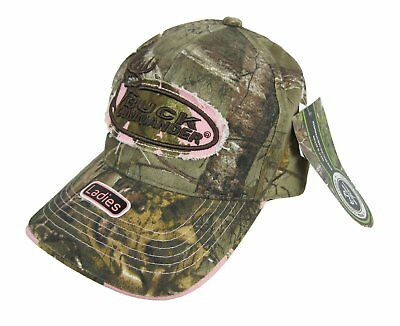 eba9ee951291d2 Buck Commander Ladies Realtree Camo Adjustable Strapback Hat Cap NWT •  12.99$