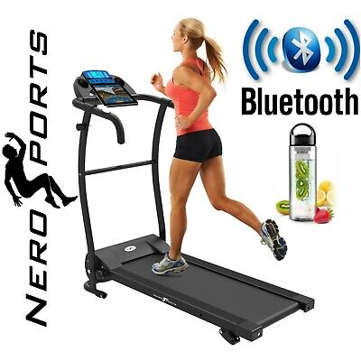 View Details BLUETOOTH NERO PRO TREADMILL Electric Motorised Folding Running Machine • 159.99£
