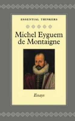 £9.99 • Buy Essays (Collector's Library Of Essential Thi... By Montaigne, Michel Ey Hardback