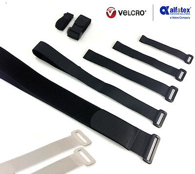 Alfatex® By Velcro® Brand Strapping Cable Ties With Buckle Band Luggage Strap • 1.99£