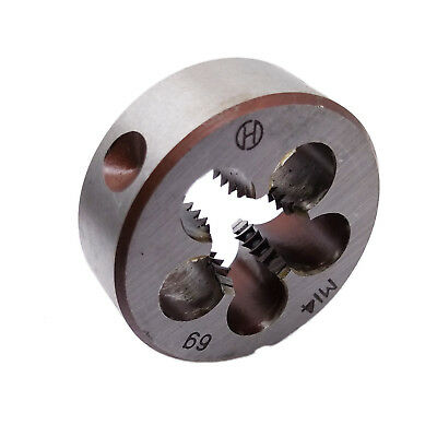 $8.69 • Buy US Stock New HSS 14mm X 2 Metric Die Right Hand Thread M14 X 2mm Pitch