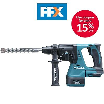Makita DHR242Z 18V LXT Li-ion Brushless Rotary Hammer SDS+ Drill Bare Body Only • 155£