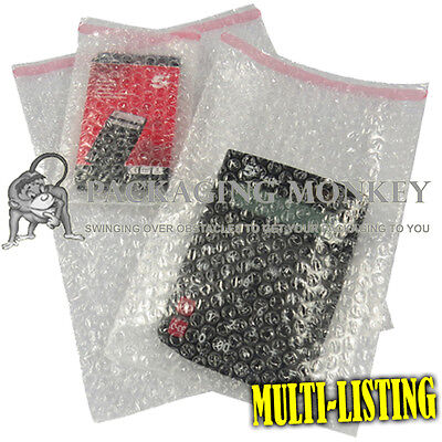 £3.05 • Buy Quality Clear Bubble Wrap Pouches Bags Envelopes Self Seal Packaging *all Sizes*