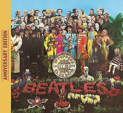 £8.40 • Buy The Beatles Sgt. Pepper's Lonely Hearts Club Band 50th ANNIVERSARY CD (2017)