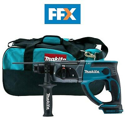 Makita DHR202 + LXT400 BAG 18v SDS+ Rotary Hammer Bare Unit And Bag • 134£