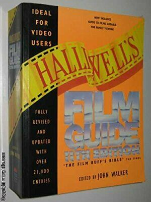 £5.99 • Buy Halliwell� S Film Guide Paperback Book The Cheap Fast Free Post