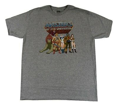 $7.99 • Buy Masters Of The Universe Mens He-Man, Battle Cat, Man-At-Arms Shirt New L,XL