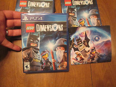 AU112.66 • Buy LEGO DIMENSIONS PS4 From  STARTER PACK ONLY GAME + FREE BONUS POSTER NEW SEALED