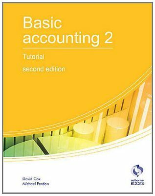 Basic Accounting 2 Tutorial: 2 (AAT Accounting -... By Fardon, Michael Paperback • 7.22£