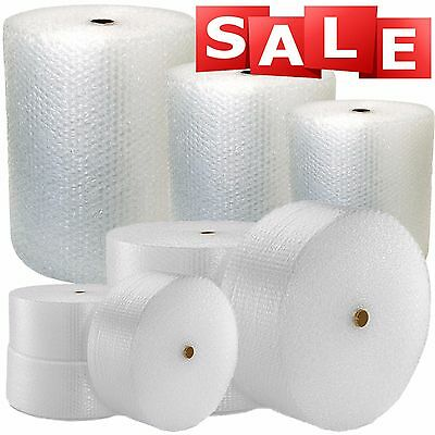 £9.29 • Buy LARGE ROLLS OF SMALL BUBBLE WRAP - CHOOSE LENGTH AND WIDTH (300mm, 500mm, 750mm)