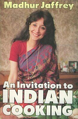 £5.49 • Buy An Invitation To Indian Cooking By Jaffrey, Madhur Paperback Book The Cheap Fast