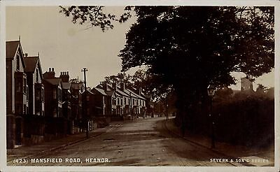 Heanor. Mansfield Road # 423 In Severn & Son's Series. • 20£