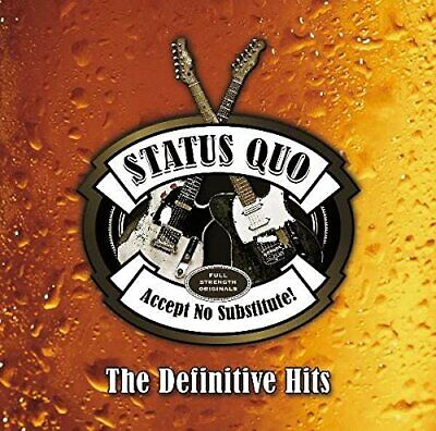 £5.43 • Buy Status Quo - The Definitive Hits - Status Quo CD M4VG The Cheap Fast Free Post