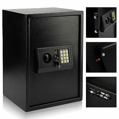 £54.95 • Buy Large Steel Safe Digital Key Electronic Security Home Office Money Safety Box