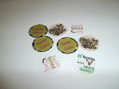 £10.96 • Buy Pre Cut One Inch Bottle Cap Images Camo Cutie Free Shipping