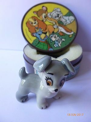 Wade Whimsie Scamp With Plastic Hatbox Disney • 19.99£