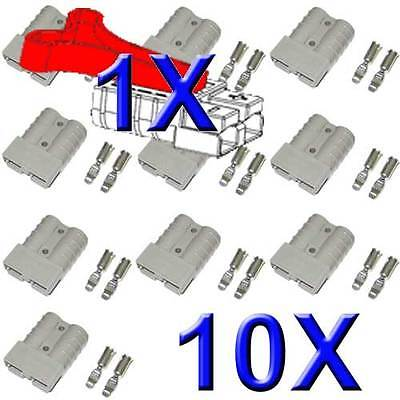 AU22 • Buy 10x Anderson Plugs 50 Amp From Abr-sidewinder Plus 1x Free T Handle