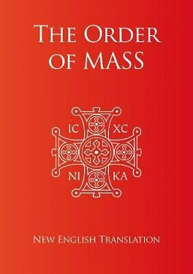 Order Of Mass In English By Catholic Truth Society Paperback Book The Cheap Fast • 5.99£