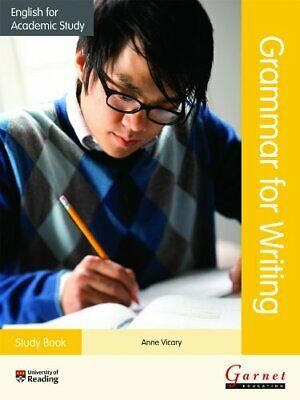£5.99 • Buy English For Academic Study: Grammar For Writing Study Book By Anne Vicary Book