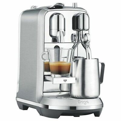 View Details Sage Nespresso Creatista Plus Pod Espresso Coffee Maker Machine 19 Bar Stainless • 229.99£