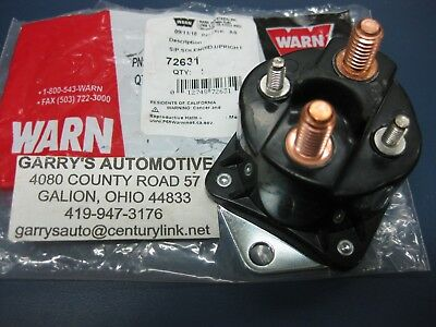 $28 • Buy Genuine WARN 72631 28631 Winch Control 12V 24V Solenoid Replacement 4 Terminal