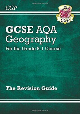 £3.29 • Buy GCSE 9-1 Geography AQA Revision Guide (with Online Ed) - Edition... By CGP Books
