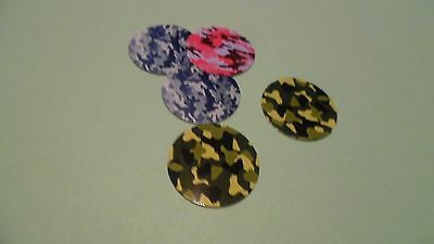 £10.96 • Buy Pre Cut One Inch Bottle Cap Images  Camo Free Shipping