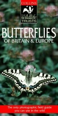 £6.49 • Buy Collins Wildlife Trust Guide - Butterflies Of B... By Chinery, Michael Paperback
