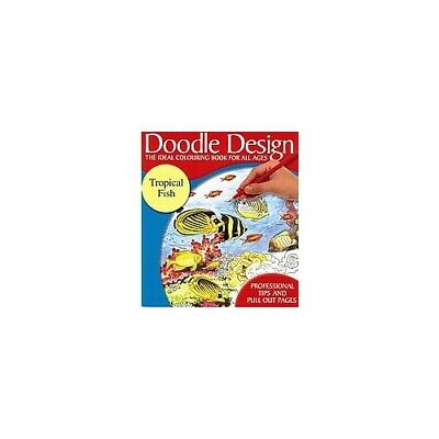£7.99 • Buy Doodle Design - The Ideal Colouring Book For All Ages - Tropical Fish (60C) Book