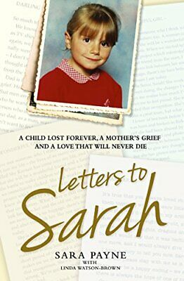 £9.99 • Buy Letters To Sarah By Watson-Brown, Linda Book The Cheap Fast Free Post