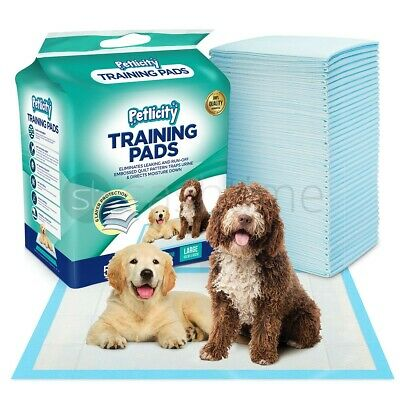£26.95 • Buy Dog Puppy Extra Large Training Pads Pad Wee Wee Floor Toilet Mats 60 X 90cm 100