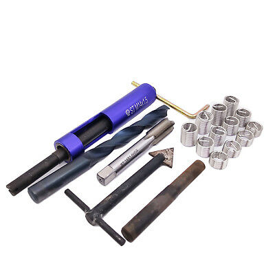 $53.30 • Buy US Stock Thread Repair Kit M14 X 1.5 Drill Tap Extraction Removal Tool 12 Insert