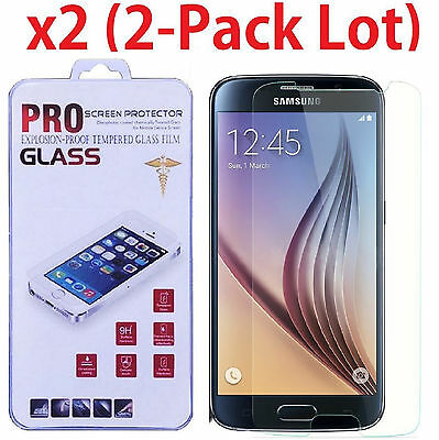 $ CDN2.04 • Buy 2x Premium Real Tempered Glass Screen Protector Guard For Samsung Galaxy S6