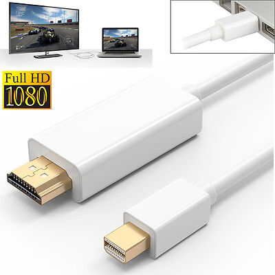 $9.36 • Buy 6FT Mini Display Thunderbolt To HDMI Cable Adapter For Surface/MacBook Pro IMac