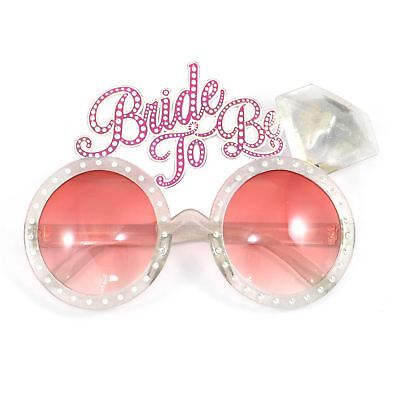 Bride To Be Glasses Hen Night Party Girls Fancy Dress Novelty Accessories Favour • 1.85£
