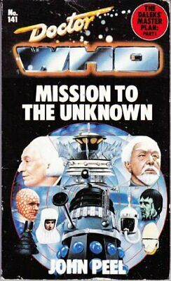Doctor Who-Mission To The Unknown: Part 1 By Peel, John Paperback Book The Cheap • 19.99£