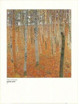 $ CDN15.04 • Buy GUSTAV KLIMT ~ THE FOREST 24x32 FINE ART POSTER Print Knight