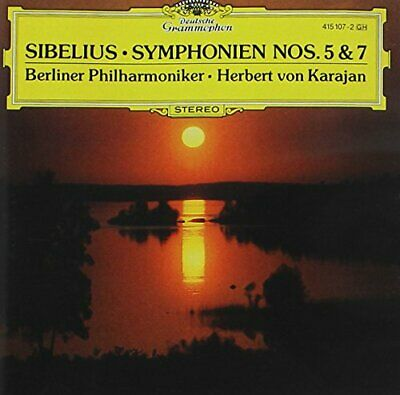 £3.49 • Buy Sibelius: Symphonies 5, 7 -  CD ZXVG The Cheap Fast Free Post The Cheap Fast