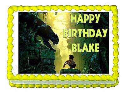 £6.35 • Buy Jungle Book Edible Cake Topper Decoration - Personalized Free!