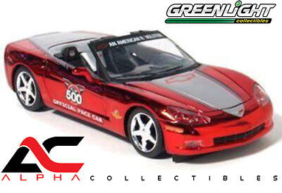 $16.95 • Buy Greenlight 11201-05 1:24 2005 Corvette Indy 500 Pace Car Red Chrome 1/500