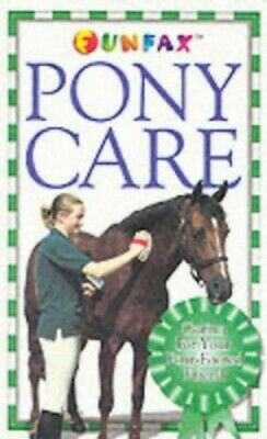 £3.29 • Buy Horse And Pony: PONY CARE (Funfax) By Henderson, Carolyn Paperback Book The