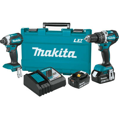 View Details Makita 18V 4.0 Ah LXT Li-Ion Brushless 2-Piece Combo Kit XT269MR Reconditioned • 174.99$