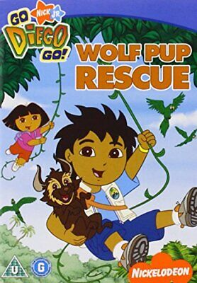 £3.49 • Buy Go Diego Go - Go Diego Go: Wolf Pup Rescue [DVD] - DVD  NYVG The Cheap Fast Free
