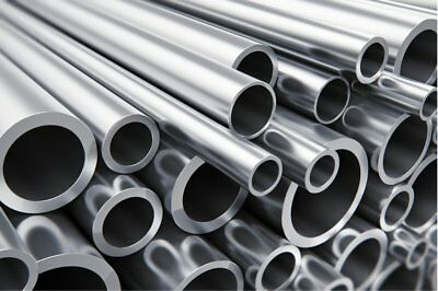 AU18.12 • Buy Aluminium Round Tube  Pipe  Many Sizes Lengths  Aluminum Alloy Bar Rod Strip 1